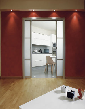 No more out of alignment pocket doors