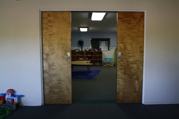 Never misaligned pocket doors