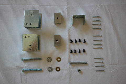 2x6 Wall Construction or Bigger Pocket Door Hardware Kit #2<br>Under 200 lbs