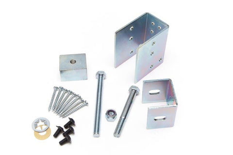 2x4 Wall Construction Pocket Door Hardware Kit #1<br>Under 88 lbs