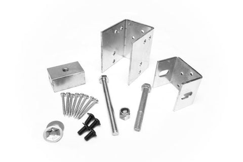 2x6 Wall Construction Pocket Door Hardware Kit #1<br>Under 176 lbs