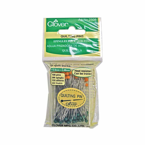 Clover Quilting Pins, 100 - 48mm (1 7/8