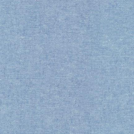 Essex Yarn-Dyed Linen/Cotton Blend - Cadet