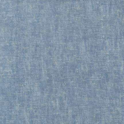 Brussels Washer Yarn-Dyed Linen - Chambray