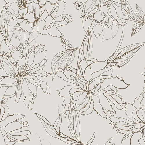 AGF Decadence Collection; Fair Peonies Traced