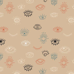 AGF Luna & Laurel Collection; Eye See You Day Fabric Art Gallery Fabrics