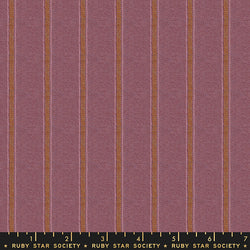 Warp & Weft - Lilac Stitch Fabric Piece Fabric Co.