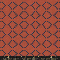 Warp & Weft - Persimmon Parade Fabric Piece Fabric Co.