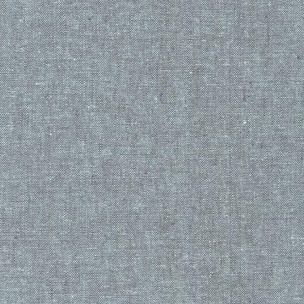 Essex Yarn-Dyed Linen/Cotton Blend - Shale