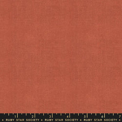 Warp & Weft - Persimmon Cross Weave Fabric Piece Fabric Co.