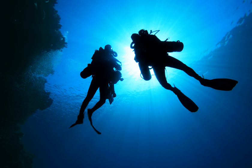 Nine Reasons to Date Your Dive Buddy