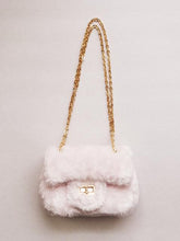 Load image into Gallery viewer, Girl's Pale Pink Furry Purse