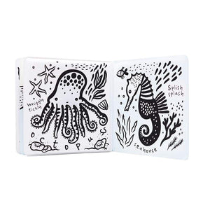Wee Gallery Color Me Bath Book : Who's In the Ocean