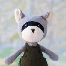 Load image into Gallery viewer, Hazel Village - Organic Animal Doll - Max Raccoon
