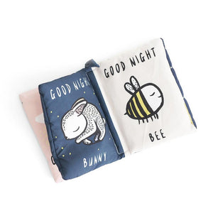 Wee Gallery Soft Bedtime Book - Good Night You, Good Night Me