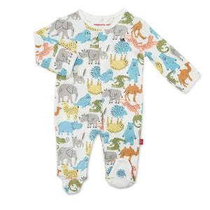 Zoo Chew Organic Cotton Footie