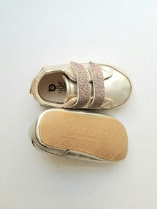 Old Soles Baby Girl's Gold Sneakers