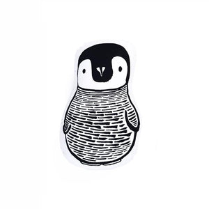 Wee Gallery Penguin Throw Pillow