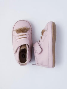 Old Soles Baby Girl's Pink Sneakers