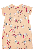 Load image into Gallery viewer, Taryn Cocoon Pocket Dress - Bunny