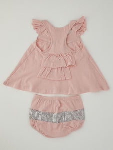 Baby girl's 2-pc set