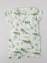 Load image into Gallery viewer, Boy's printed romper