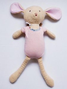 Organic Animal Doll - Catalina Mouse