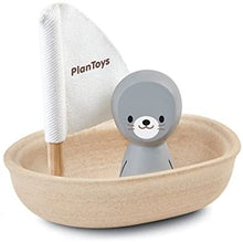 Load image into Gallery viewer, Plan Toys Sailing Boat - Seal