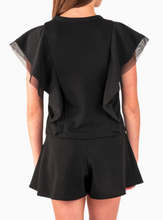 Load image into Gallery viewer, The Taylor Top - Black (Tween)