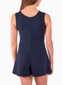 The Side Tie Romper (Tween)