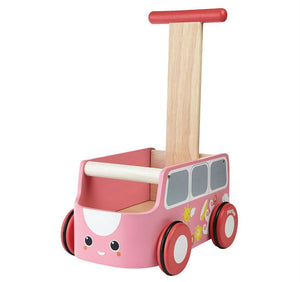 Plan Toys Van Walker - Pink