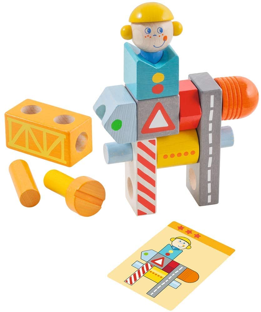 Haba -  Brain Builder Ben Stacking & Arranging Game