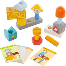 Load image into Gallery viewer, Haba -  Brain Builder Ben Stacking & Arranging Game