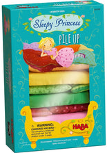 Load image into Gallery viewer, Haba - Sleepy Princess Pile Up - 2 Enchanting Stacking Games