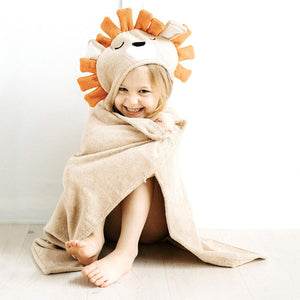 Natemia - Bamboo Lion Hooded Towel