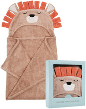Load image into Gallery viewer, Natemia - Bamboo Lion Hooded Towel