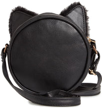 Load image into Gallery viewer, OMG Black Kitty Crossbody Bag