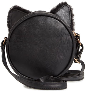 OMG Black Kitty Crossbody Bag