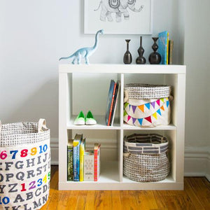 Canvas Tote & Bin - A to Z