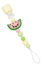 Load image into Gallery viewer, Loulou Lollipop Pacifier Clip - Watermelon