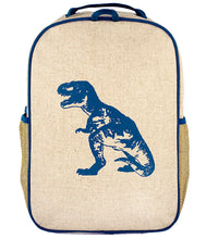 Load image into Gallery viewer, So Young Blue Dino Backpack ( 2 sizes )
