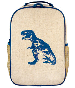 So Young Blue Dino Backpack ( 2 sizes )
