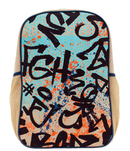 So Young Colorful Graffiti Backpack ( 2 sizes )