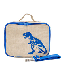 Load image into Gallery viewer, So Young Blue Dinosaur Lunch Box