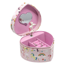 Load image into Gallery viewer, Chanteur - Rainbow And Unicorn Music Jewelry Box