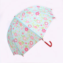 Load image into Gallery viewer, Pluie Pluie Blue Floral Umbrella