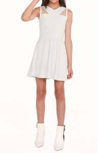 The Jill Dress in Ivory (Tween)