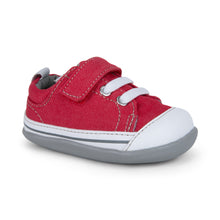 Load image into Gallery viewer, See Kai Run Baby Boy's Red Sneakers