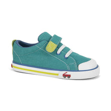 Load image into Gallery viewer, Boy's green sneakers