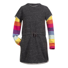 Load image into Gallery viewer, Appaman Girl's Rainbow Stripes Jess Dress